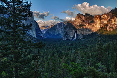 Tunnel View Sunset Poster by Rick Berk
