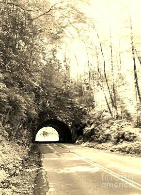 Poster featuring the photograph Tunnel Vision by Janice Spivey