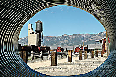 Poster featuring the photograph Tunnel Vision by Tonia Noelle