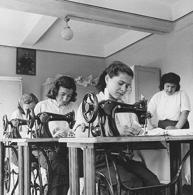 Turkish Seamstresses Poster by George Pickow