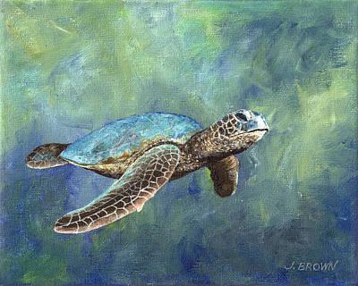 Turtle Crush Poster