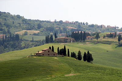 Poster featuring the photograph Tuscany by Carla Parris