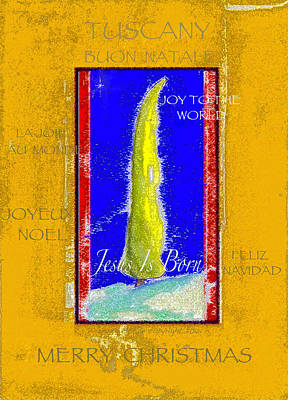 Tuscany Joy To The World Poster by Glenna McRae