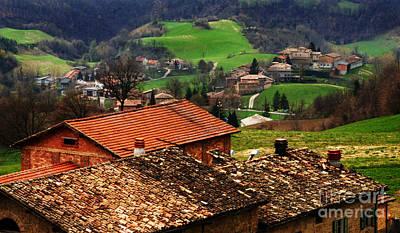 Tuscany Landscape 2 Poster by Bob Christopher