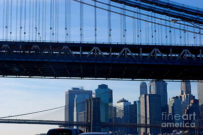 Two Bridges Poster by Andrea Simon
