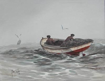 Two Fishermen Poster