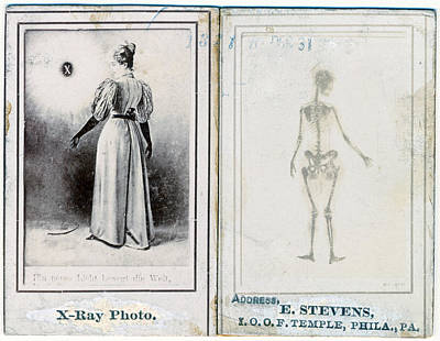 Two Views Of A Woman, Clothed Poster by Everett
