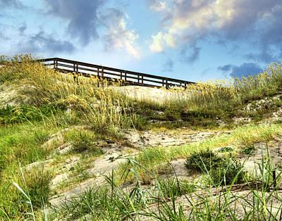 Tybee Island Dunes No.2 Poster by Tammy Wetzel