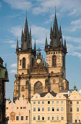 Tyn Church - Old Town Of Prague - Czech Republic Poster