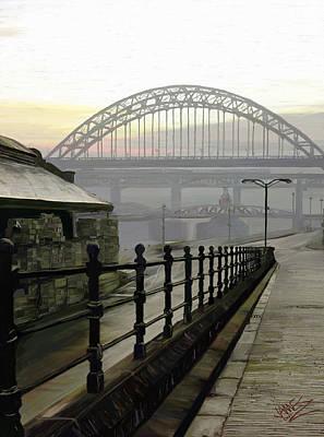 Tyne Bridge Poster by James Shepherd