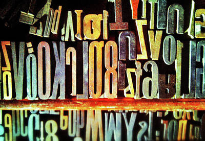 Typography Poster by Olivier Calas