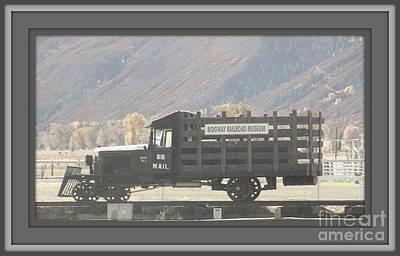 U. S. Mail N Rail Poster