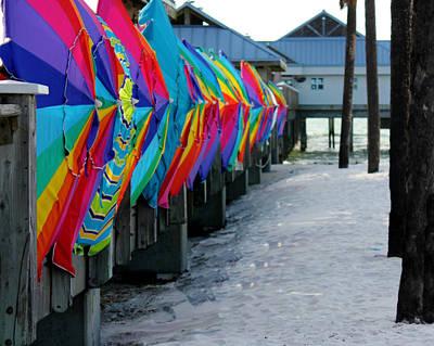 Umbrellas Poster by Shweta Singh