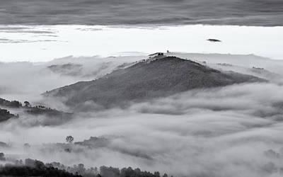 Umbrian Mist Poster