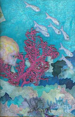 Underwater Splendor I Poster by Denise Hoag