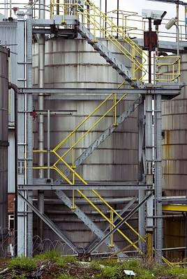 Unilever Industrial Plant, Uk Poster