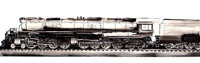 Union Pacific 4-8-8-4 Steam Engine Big Boy 4005 Poster