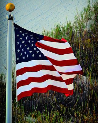 United States Of America Poster by Gerlinde Keating - Galleria GK Keating Associates Inc