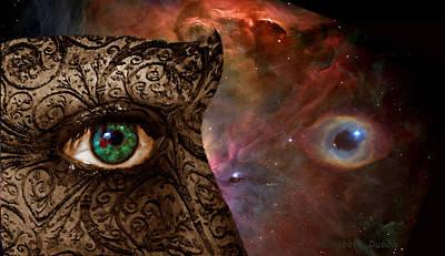 Universal Eyes Poster