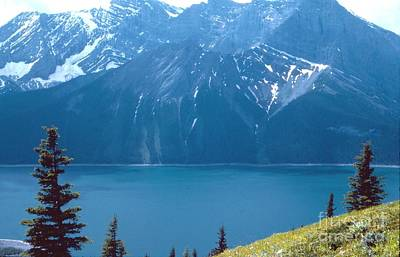 Poster featuring the photograph Upper Kananaskis Lake by Jim Sauchyn