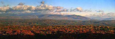 Poster featuring the photograph Upstate Ny Panorama by Terry Cork