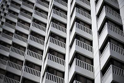 Urban Textures Poster by Hal Bergman Photography