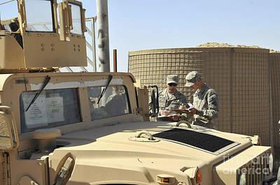 U.s. Army Soldiers Take Accountability Poster