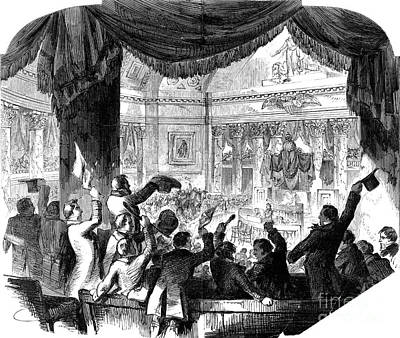 U.s. Congress: House, 1856 Poster by Granger