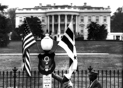 Us & District Of Columbia Flags Poster by Everett
