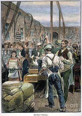 U.s. Textile Mill, 1881 Poster