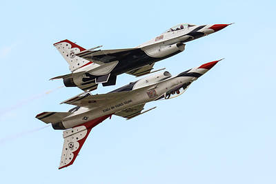 Usaf Thunderbirds Display Pair Poster