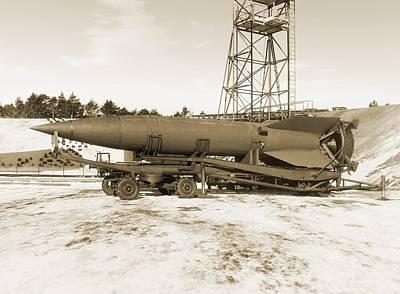 V-2 Rocket Poster