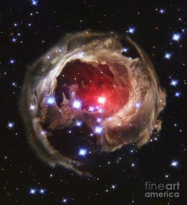 V838 Monocerotis Poster by Nasa