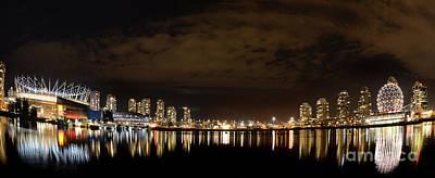 Vancouver British Columbia 4 Poster
