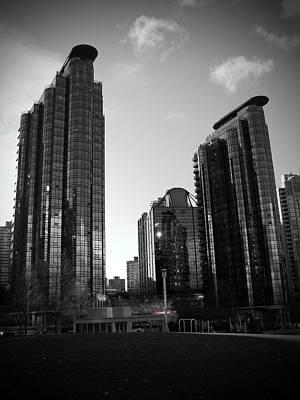 Vancouver Skyscrapers Poster by Kamil Swiatek