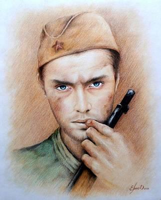 Vasily Zaitsev Poster by Lena Day