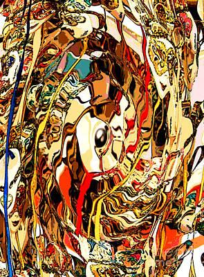 Venetian Abstract Poster