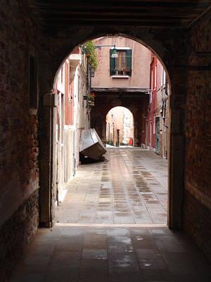 Venetian Alleyway Poster