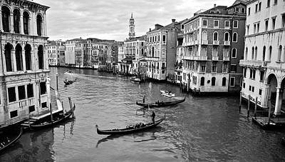 Poster featuring the photograph Venezia by Eric Tressler