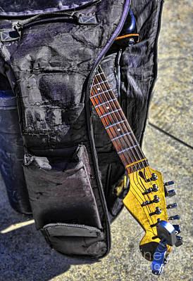 Venice Guitar I Poster