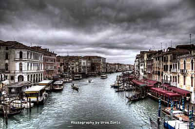 Venice Landscape Hdr Poster