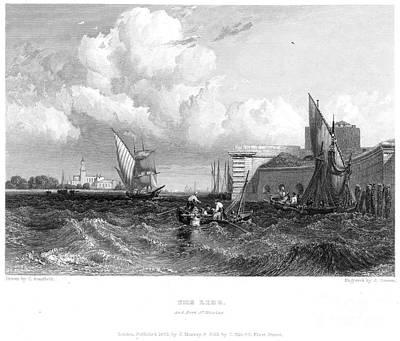 Venice: Lido, 1833 Poster
