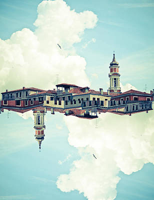 Venice Mirrored Poster by Luke Chan