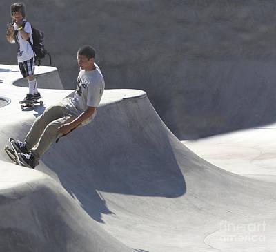 Venice Skate Boarding Poster