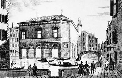 Venice: Teatro La Fenice Poster by Granger