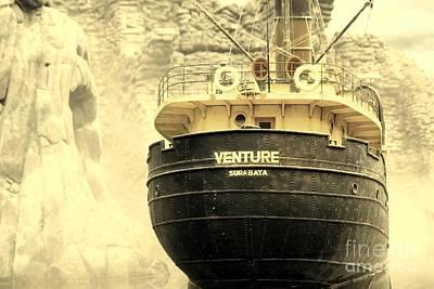 Venture Poster by Sophie Vigneault