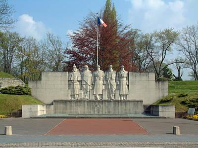 Verdun World War I Memorial Poster by Joseph Hendrix
