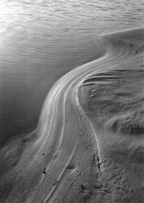 Vernal Sand Swirls Poster by James Rasmusson