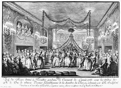 Versailles: Ball, 1763 Poster by Granger