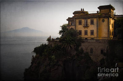 Vesuvius From Sorrento Poster